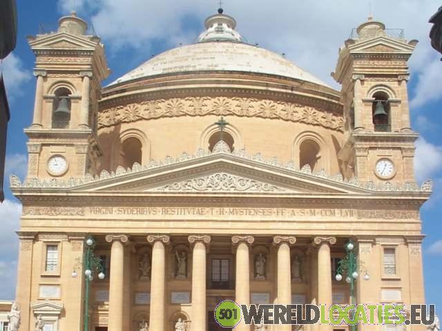 Malta - Koepelkerk St. Marija Assunta in Mosta