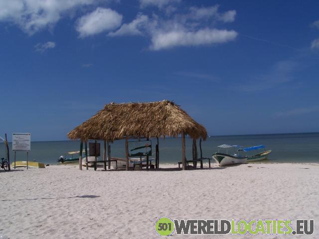 Cancun op het schiereiland Yucatan
