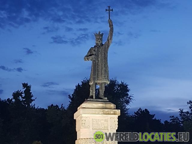 De hoofdstad Chisinau