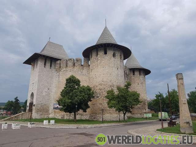 Moldavië - Het Middeleeuwse kasteel van Soroca