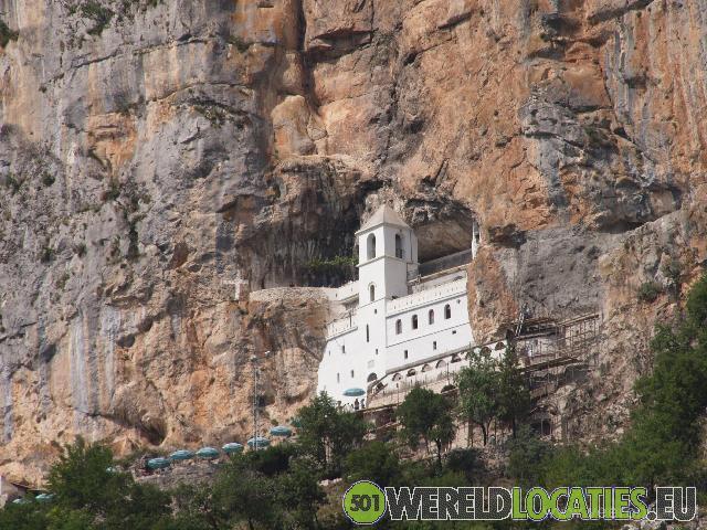 Montenegro - Het Upper Monastery van Ostrog