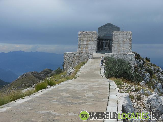 Montenegro - Het mausoleum van Njegoš in Lovcen N.P.