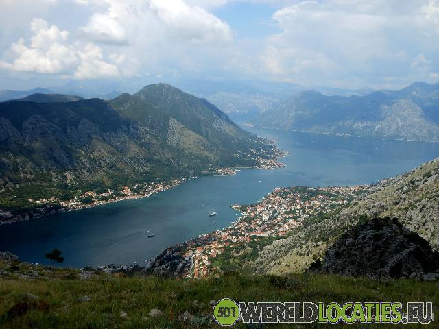 Montenegro - Kotor aan de Adriatische zee