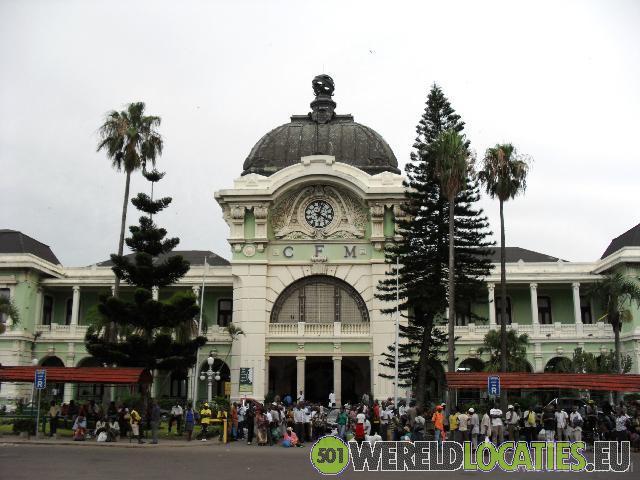 Het station van Maputo
