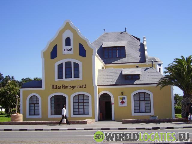 Duitse sferen in Lüderitz en Swakopmund