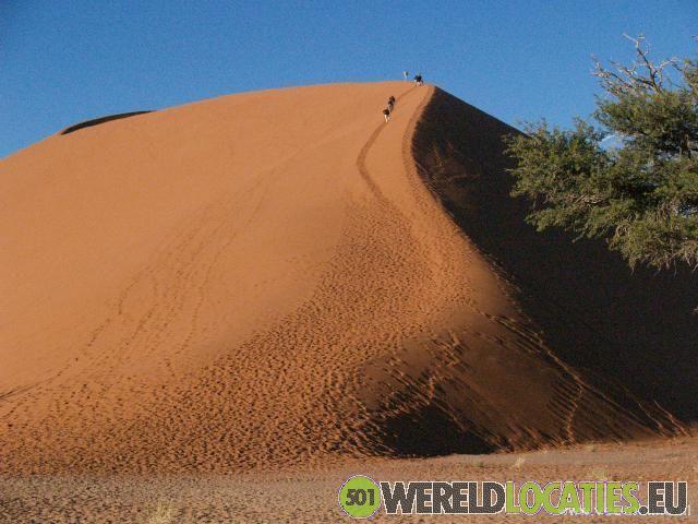 Sossusvlei Namibische woestijn