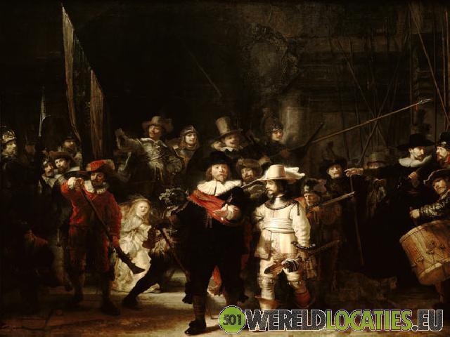 Nederland - De Nachtwacht van Rembrandt
