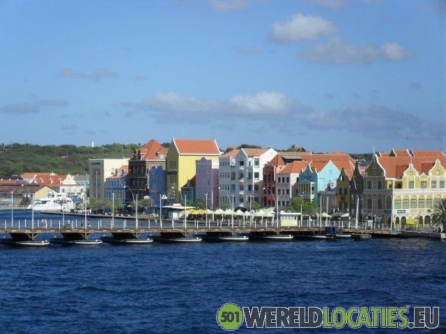 Nederlandse Antillen - Haven van Willemstad Curaçao