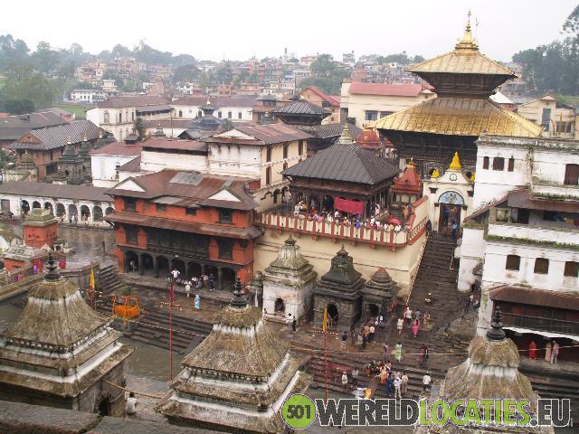 Nepal - Tempel Pashupatinath Kathmandu