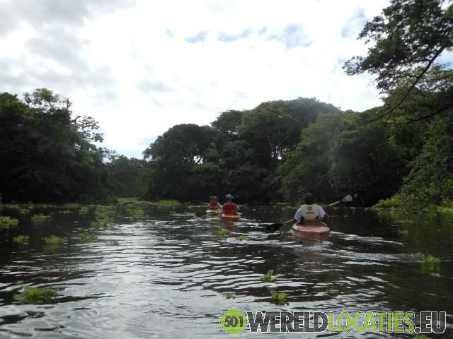 Nicaragua - Kajakken tussen Isletas de Granada