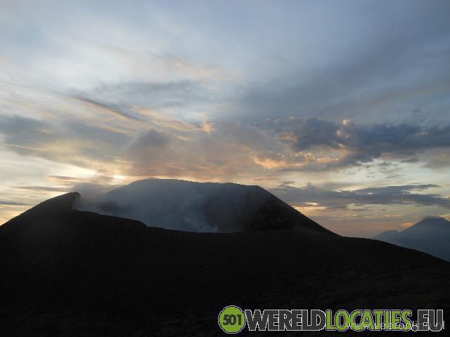 Nicaragua - Lava op de Telica vulkaan
