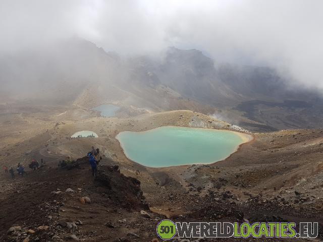 Nieuw Zeeland - Tongoriro Alpine Crossing