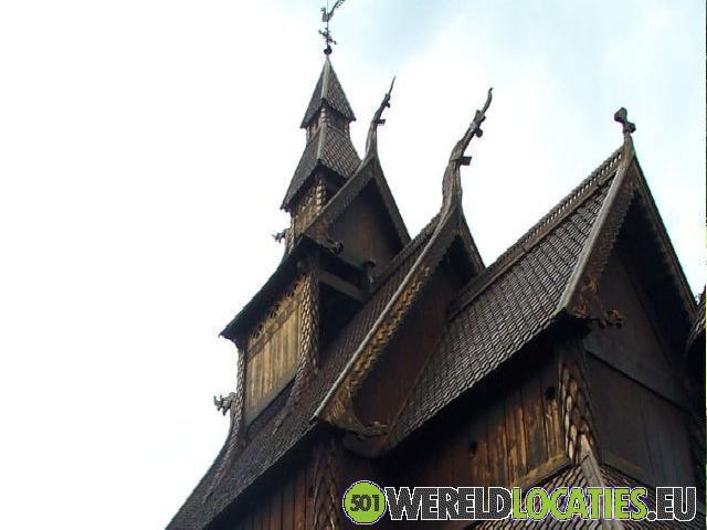 Noorwegen - Stavkirke van Hopperstad