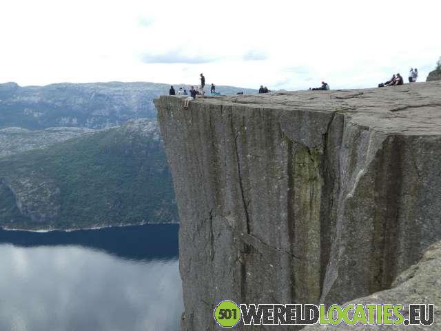 Noorwegen - De Preikestolen