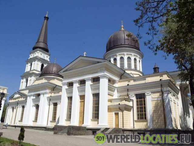 De Spaso-Preobrazhensky kathedraal van Odessa