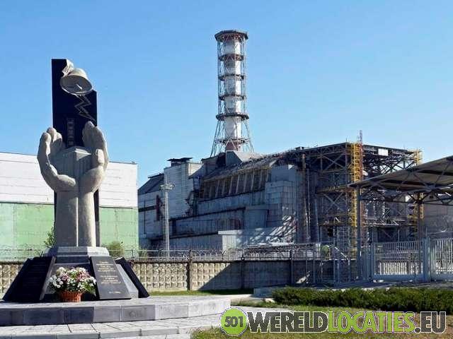 De reactor van Tsjernobyl