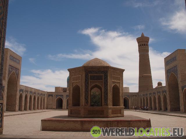 Moskeeën en madrasses in Bukhara