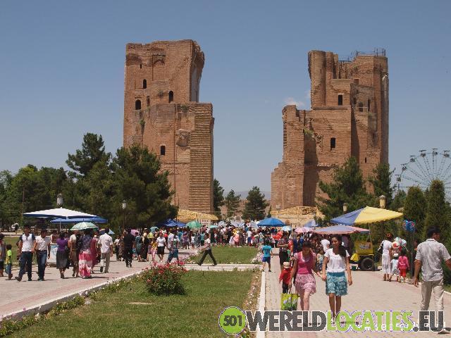 Oezbekistan - De ruïnes van Timur paleis