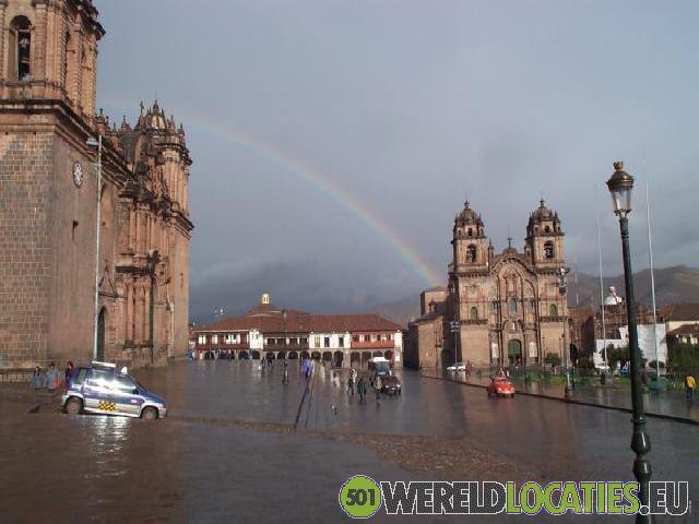 Het centrum van Cusco