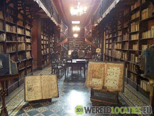Peru - Bibliotheek San Francisco Klooster Lima