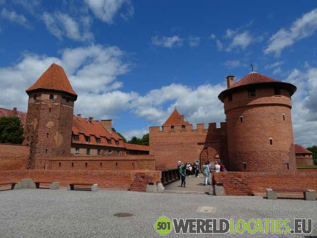 Polen - Het kasteel van Marienburg