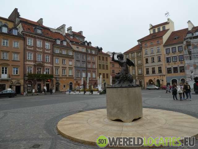 Het oude centrum van Warschau