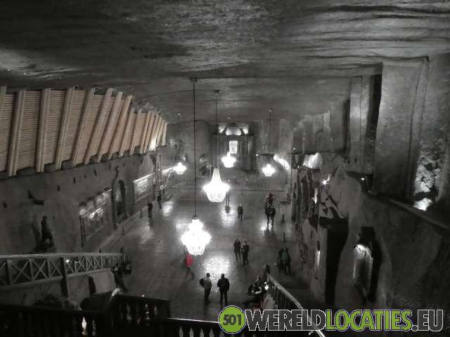 De zoutmijnen van Wieliczka