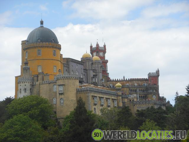 Portugal - Het Palácio Nacional da Pena in Sintra