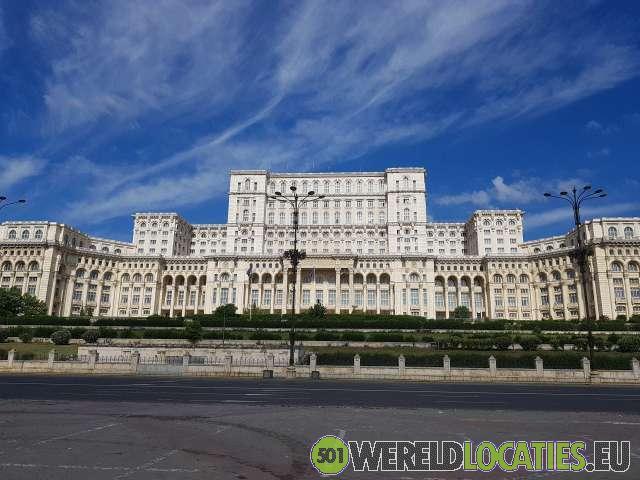 Roemenië - Het kolossale Palatul Parlamentului