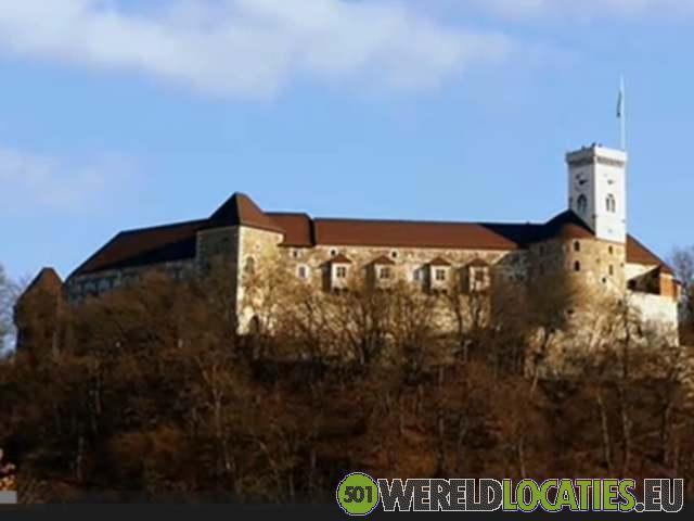 Het kasteel van Ljubijana