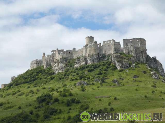 Slowakije - Het kasteel van Spis