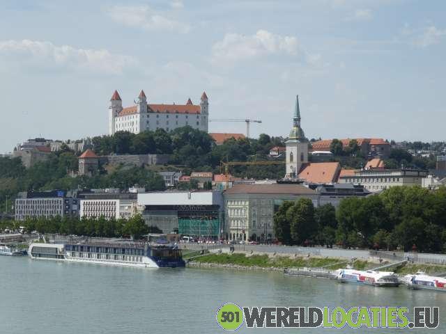 De Slowaakse hoofdsad Bratislava