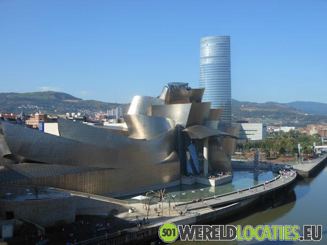 Spanje - Het Guggenheim museum in Bilbao
