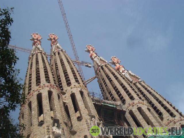 De Sagrada Família in Barcelona