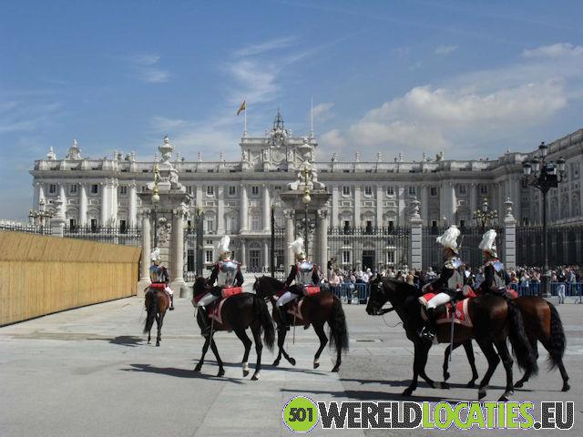 De Soaanse hoofdstad Madrid