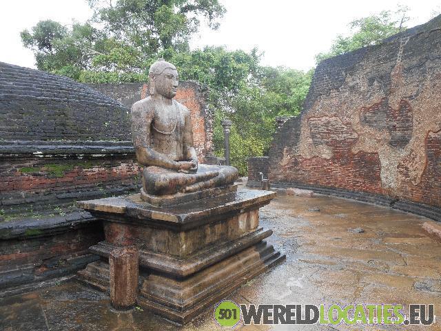 Sri Lanka - Kolossale bhoedda beelden in Polonnaruwa