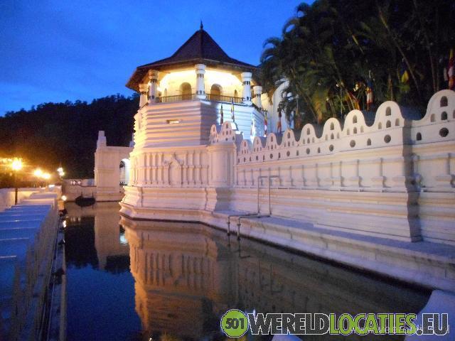 De tempel van de Tooth Relic Kandy