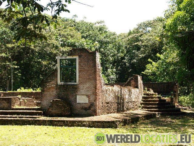 Jodensavanne aan de Suriname rivier