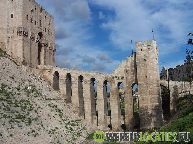Syrië - Citadel van Aleppo
