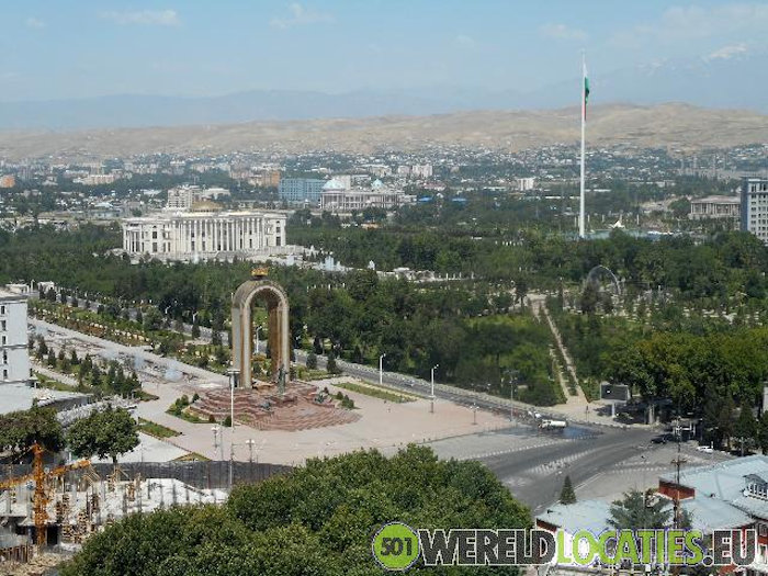 Tadzjikistan - Amir Ismail Samani in Dushanbe