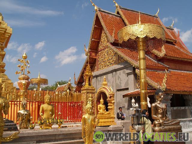 Wat Doi Suthep tempel in Chiang Mai