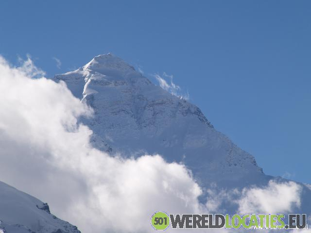 Tibet - Het basecamp van de Mount Everest