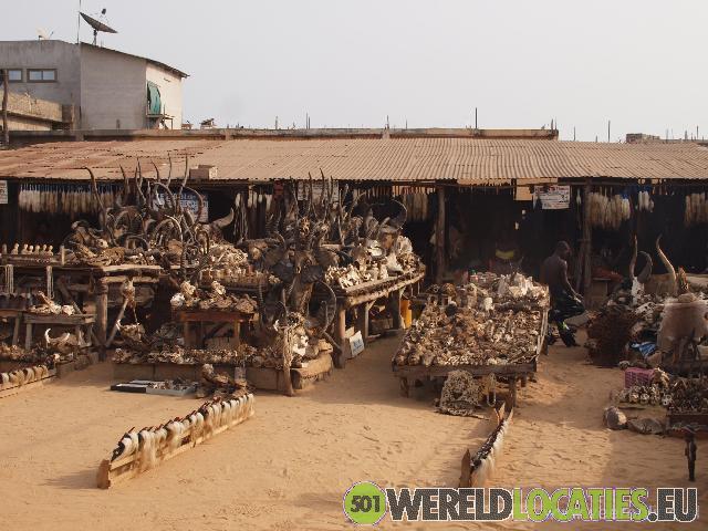 Fetisj Market van Lomé
