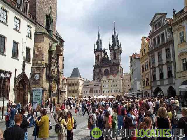 Historisch stadscentrum van Praag