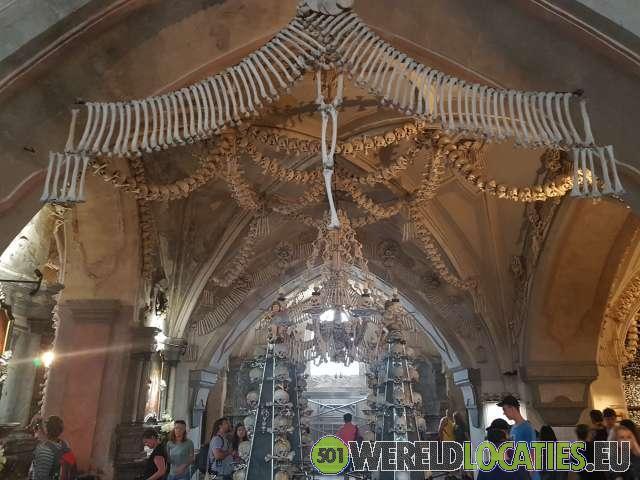 Tsjechië - Het ossuarium van Sedlec