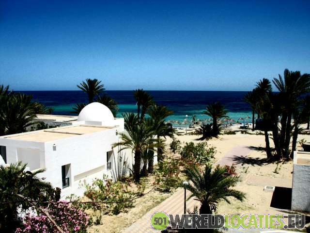 De witte huizen van Djerba
