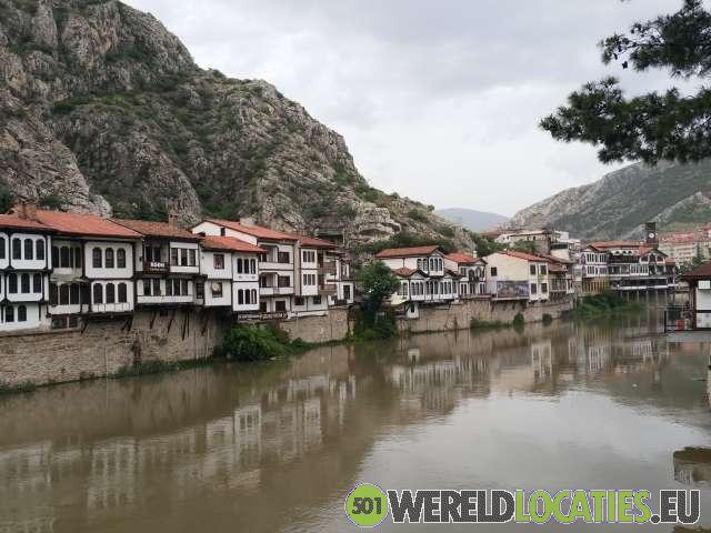 Turkije - De Ottomaanse huizen van Amasya