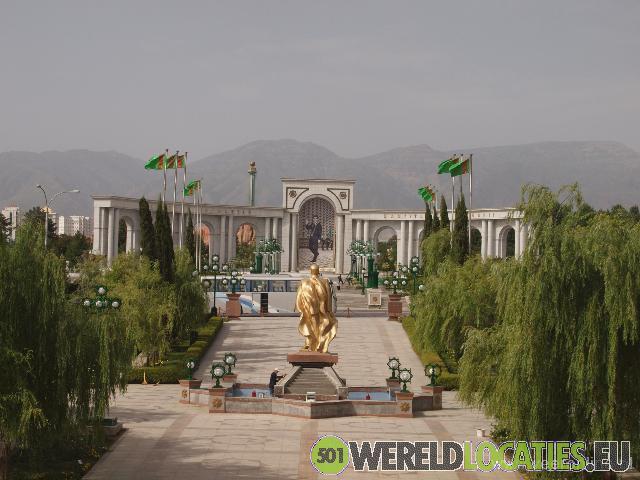 Turkmenistan - Turkmenbashi's Ashgabat
