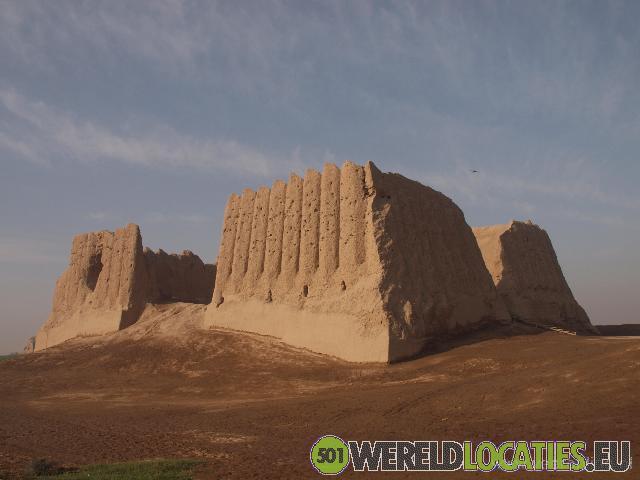 De oude handelsstad Merv