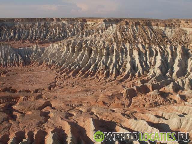Turkmenistan - Yangykala canyon